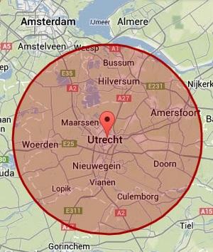 Werkgebied Utrecht
